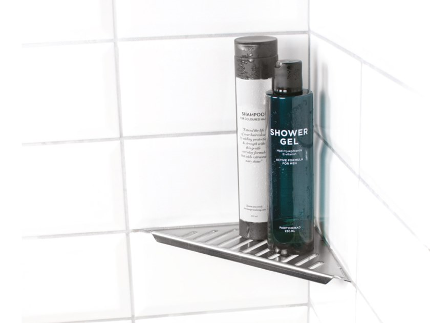 Stainless steel bathroom wall shelf Stainless steel shower shelf by Genesis
