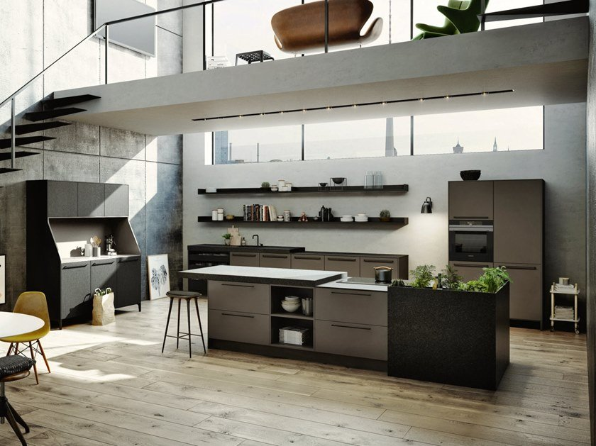Küche SieMatic URBAN 29 SE 8008 LM / SE 4004 E By SieMatic ...