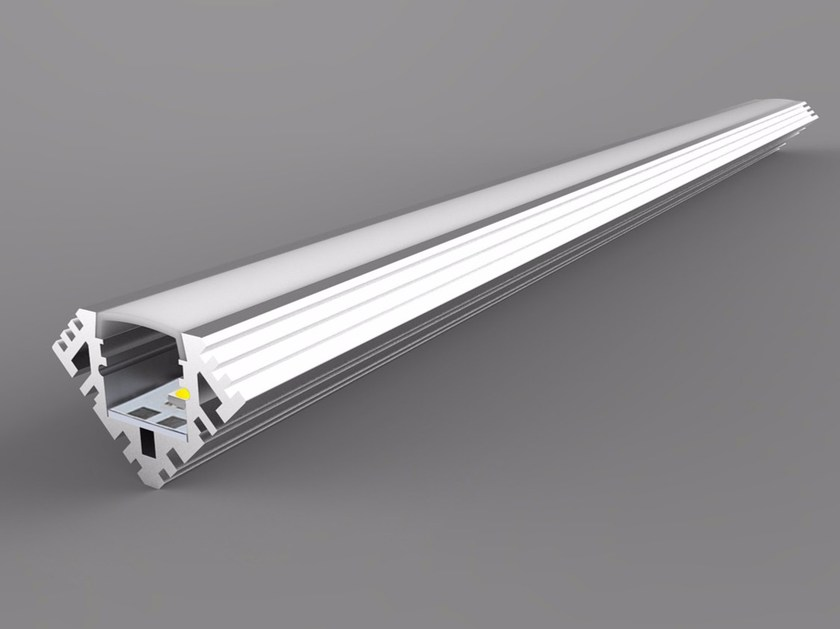 Linear lighting profile Single Color Corner Series by Neonny