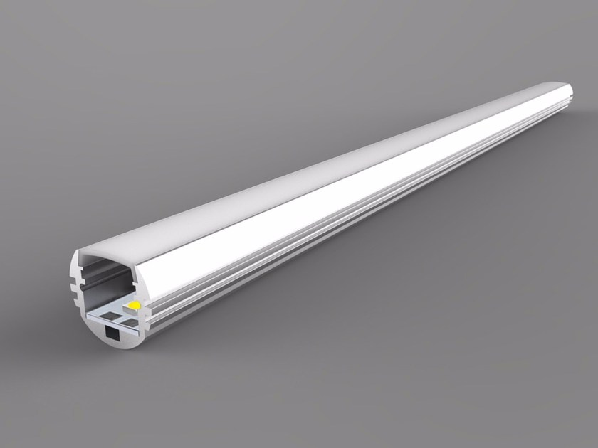 Linear lighting profile Single Color Round Series by Neonny