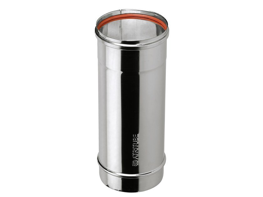 Stainless steel flue Single Wall Flue Pipe by ATRITUBE