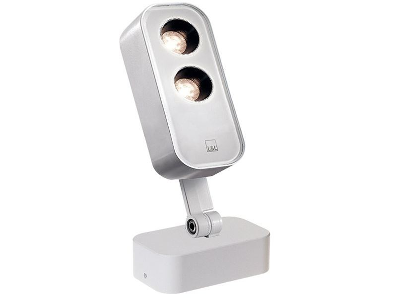 Outdoor floodlight Siri 1.1 by L&L Luce&Light