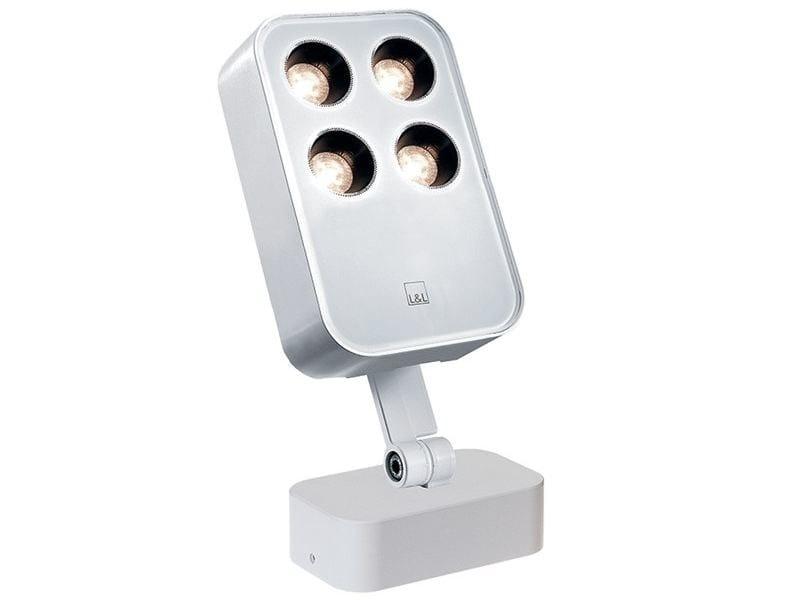 Proiettore per esterno in alluminio pressofuso Siri 2.1 by L&L Luce&Light