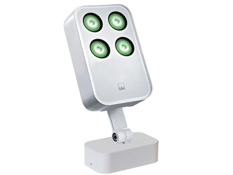 LED adjustable die cast aluminium Outdoor floodlight Siri 2.3 by L&L Luce&Light