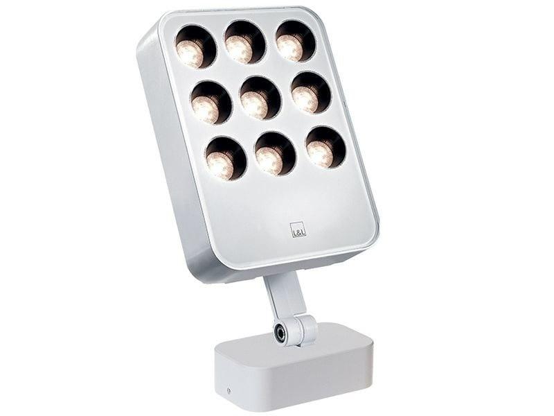 Die cast aluminium Outdoor floodlight Siri 3.1 by L&L Luce&Light