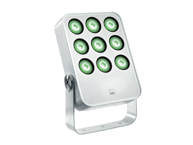 Proiettore per esterno a LED orientabile in alluminio pressofuso Siri 3.2 by L&L Luce&Light