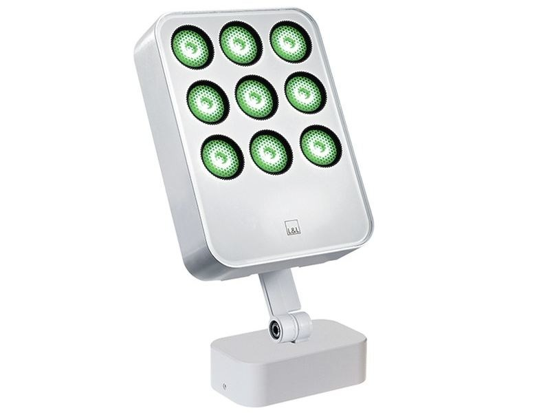 LED adjustable die cast aluminium Outdoor floodlight Siri 3.3 by L&L Luce&Light