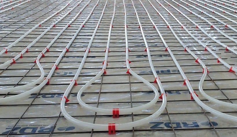 Radiant floor panel Sistema Industriale su rete by RDZ