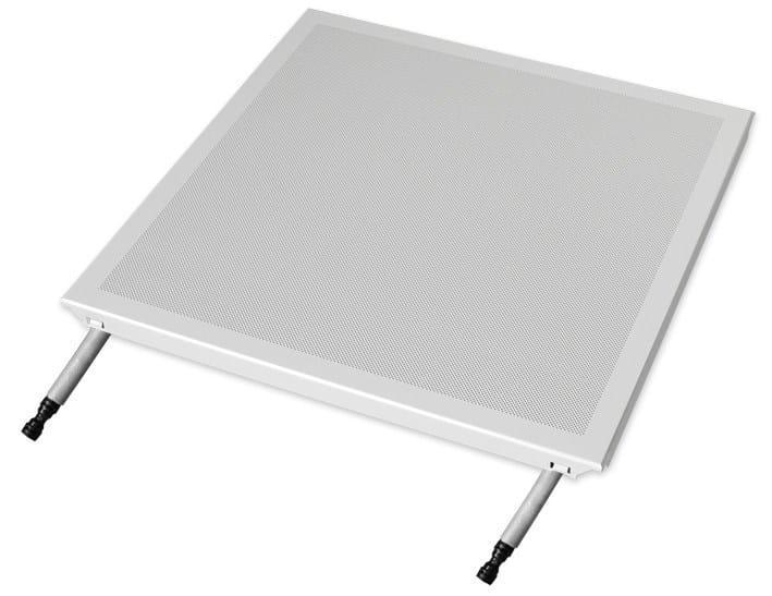 Radiant ceiling panel Sistema b!klimax+ Quadrotti HP by RDZ