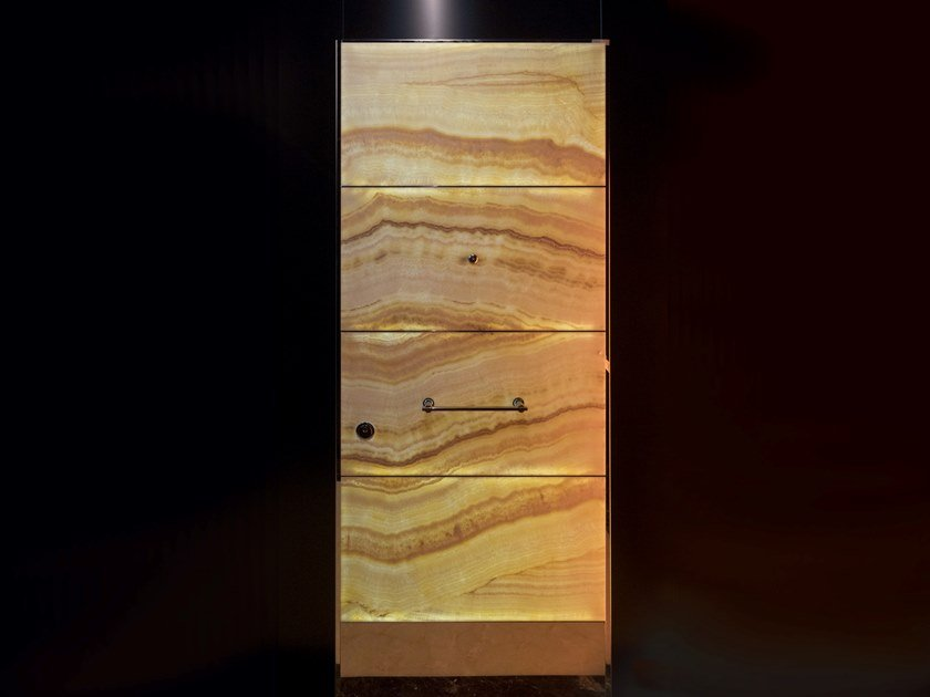 Sliding onyx safety door Sliding entry door by Ercole