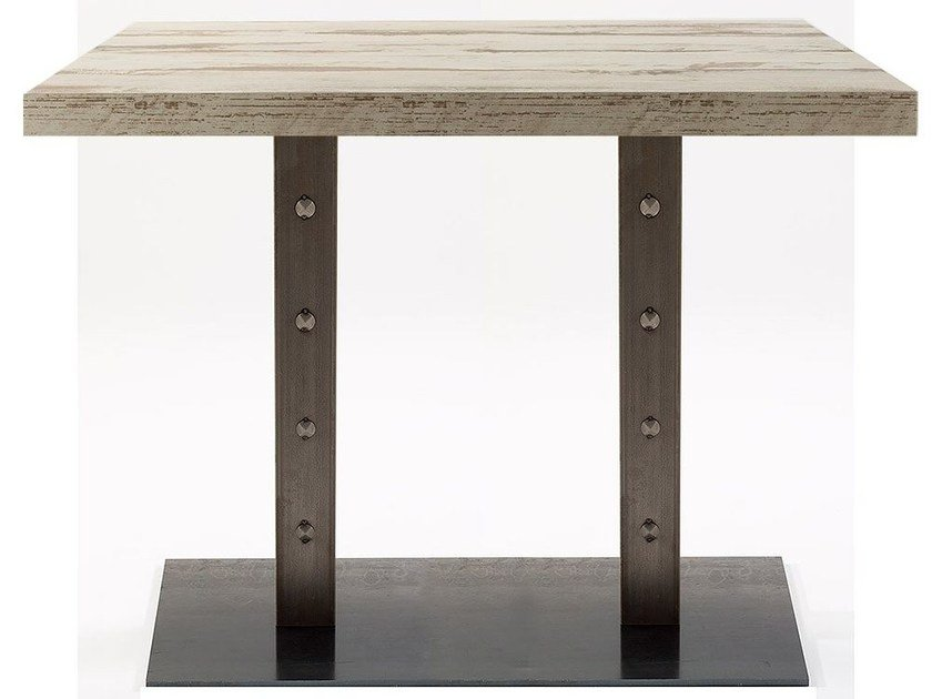 Rectangular contract table SLIM BORG 84/2 by Vela Arredamenti