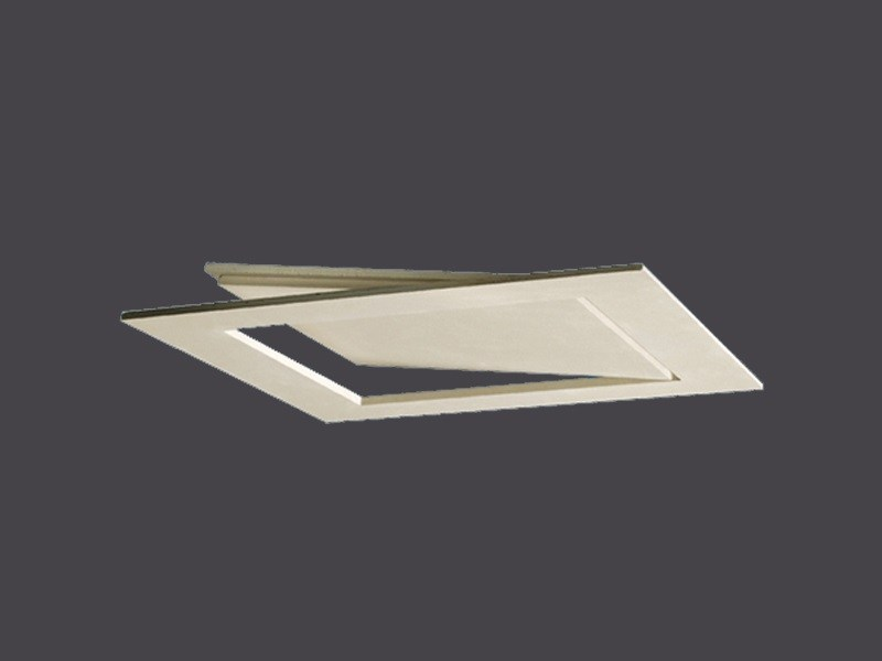 Slim Plasterboard with abutment opening for false ceilings SLIM HATCH DOORS IN PLASTERBOARD by Gyps
