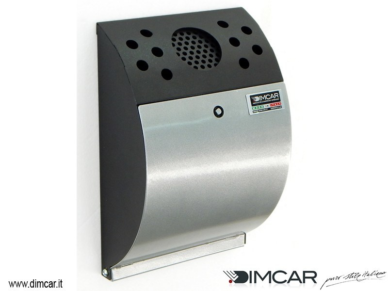 Galvanized steel ashtray Posacenere Smokers by DIMCAR