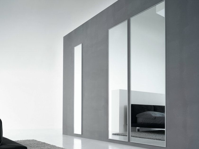 Rectangular wall-mounted mirror Mirror by De Rosso