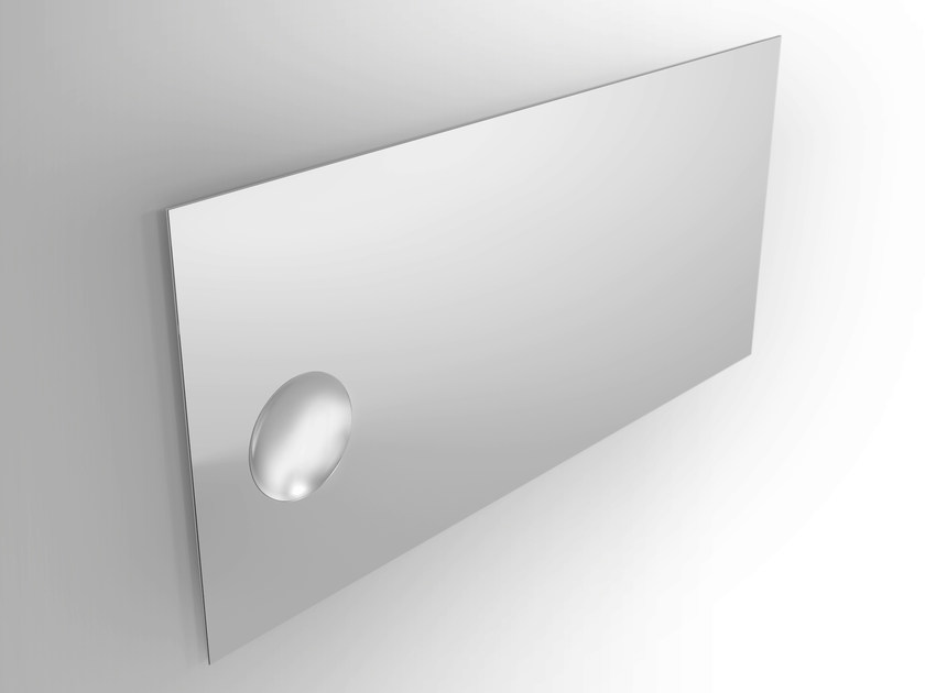 Rectangular wall-mounted mirror Wall-mounted mirror by Alna