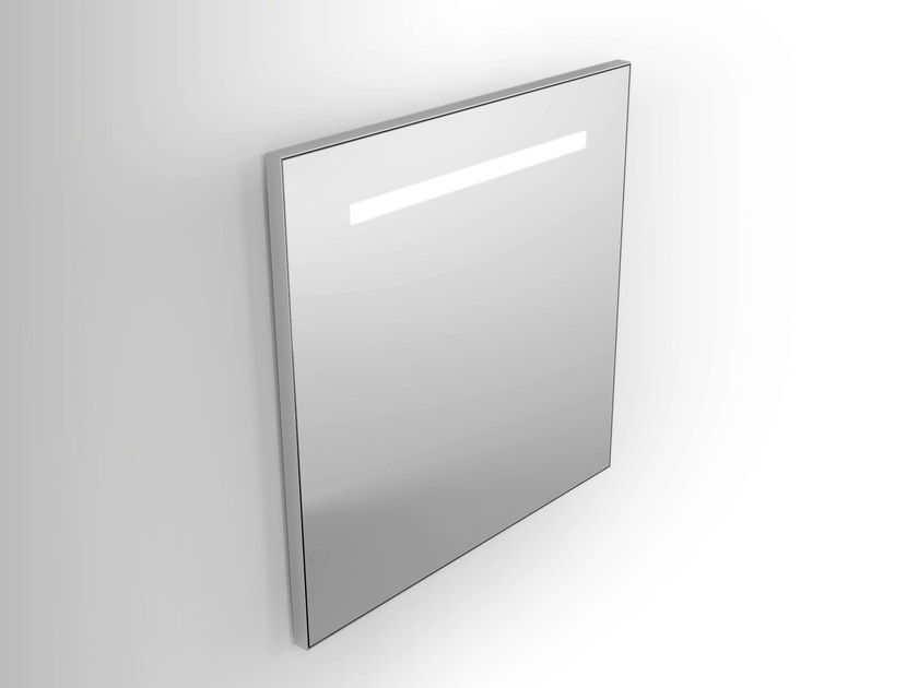 Wall-mounted mirror with integrated lighting Mirror with integrated lighting by Alna