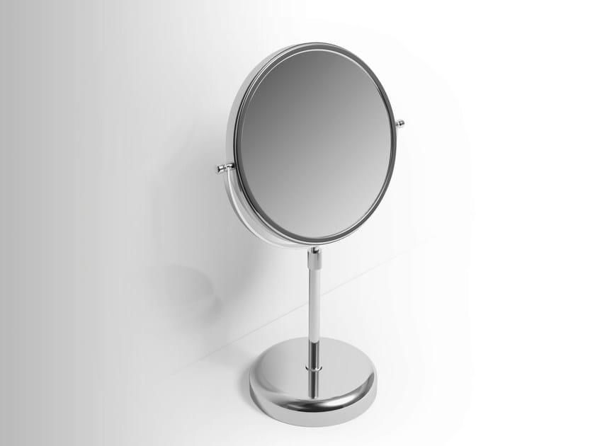 Double-sided countertop shaving mirror Shaving mirror by Alna