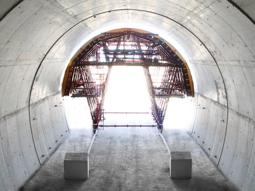 In situ concrete loadbearing masonry system Special tunnel formwork by Condor