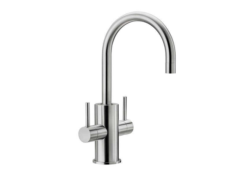 Countertop stainless steel kitchen mixer tap Spin HC by MGS