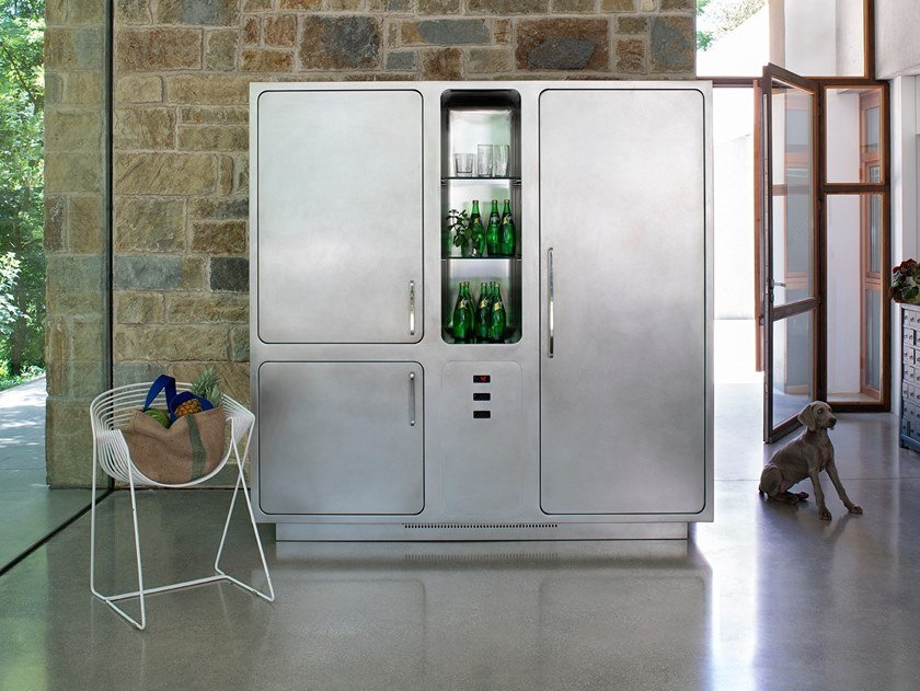 Stainless steel Professional refrigerator COLD CONTROL SYSTEM by ABIMIS