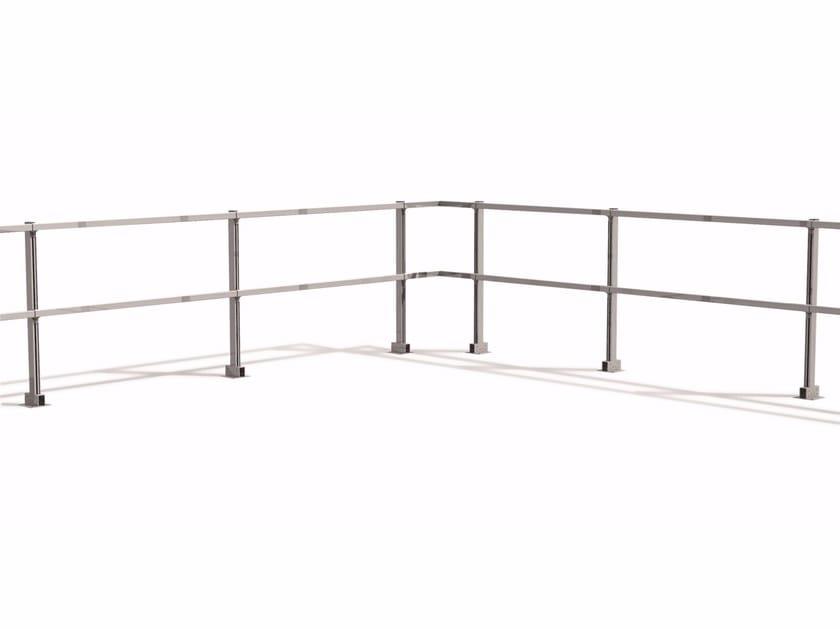 Aluminium balustrade / Fall protection system Balustrade by RODIGAS