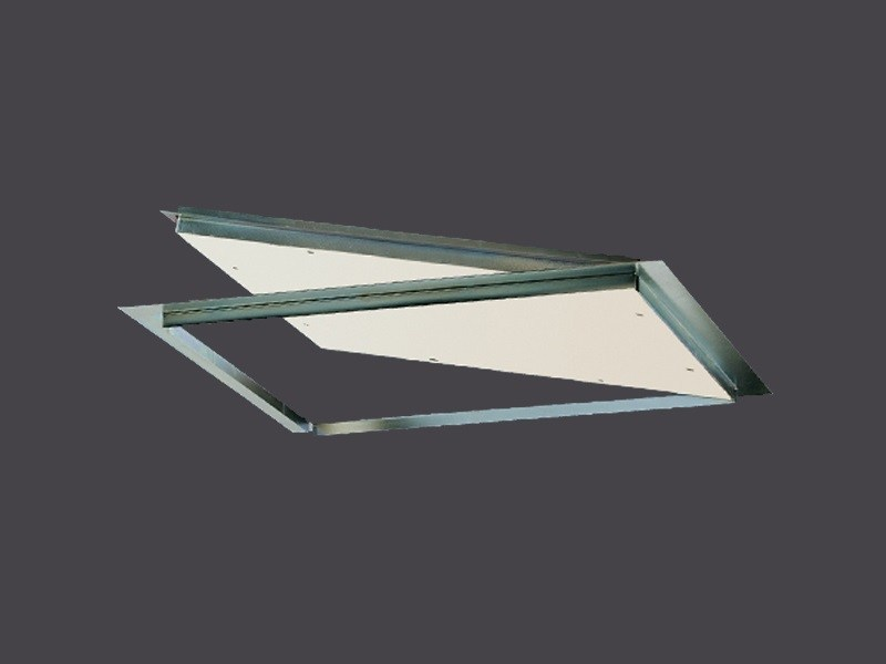 Steel Hatch doors for Plasterboard with abutment opening ABUTTED STEEL HATCHES by Gyps