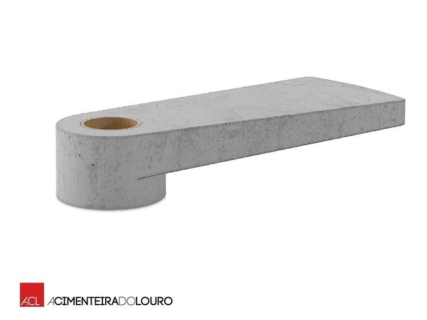 Gradino in calcestruzzo per scale a chiocciola Gradino by ACL