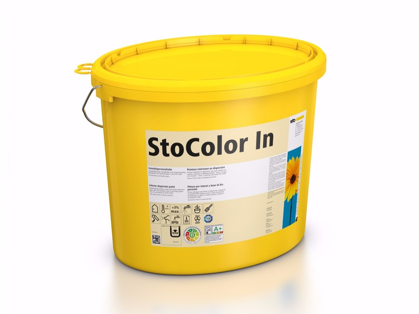 Ecological varnish and paint for sustainable building StoColor In by Sto Italia