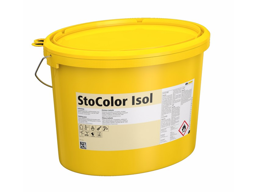 Ecological varnish and paint for sustainable building StoColor Isol by Sto Italia