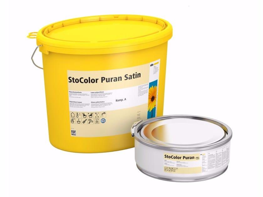 Protective varnish StoColor Puran Satin by Sto Italia