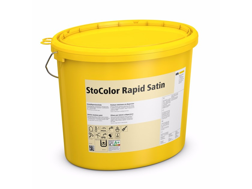 Washable water-based paint StoColor Rapid Satin by Sto Italia