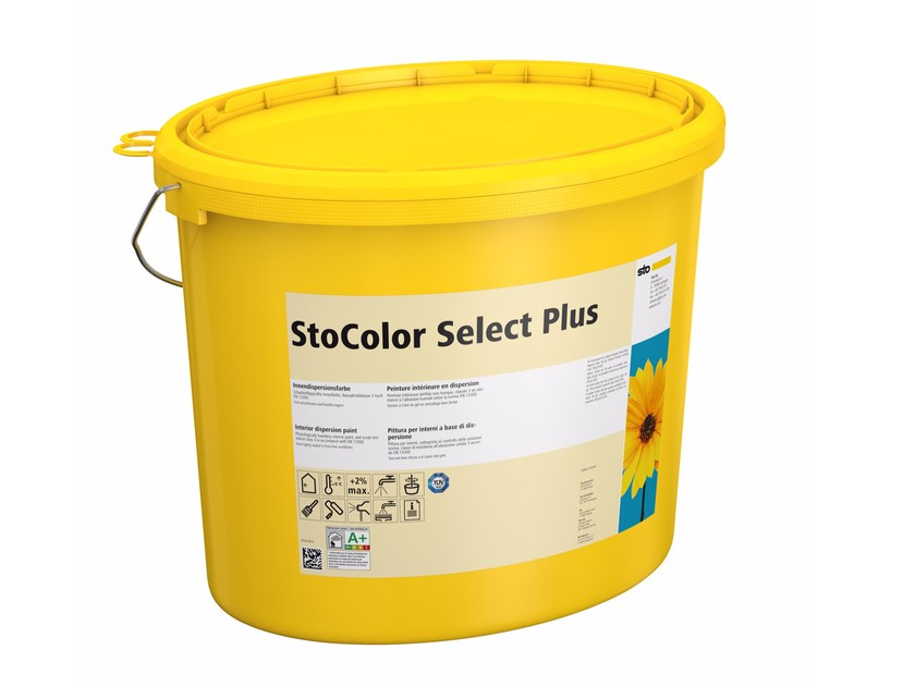 Water repellent water-based paint StoColor Select Plus by Sto Italia
