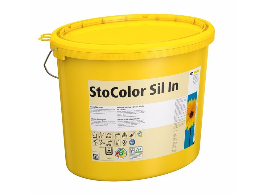 Silicate paint StoColor Sil In by Sto Italia