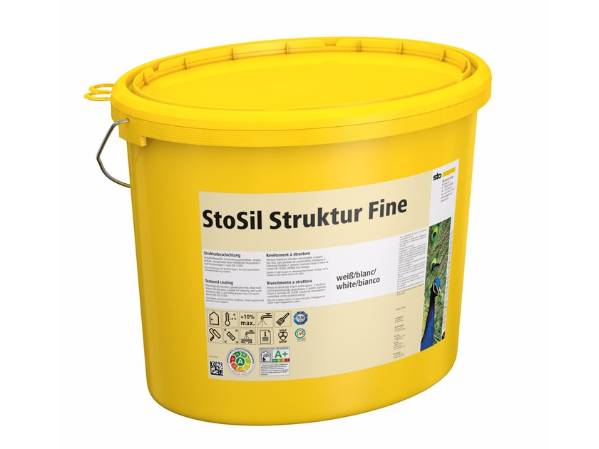 Silicate paint StoSil Struktur by Sto Italia