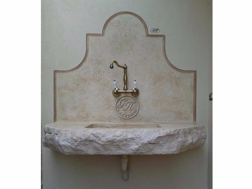 Natural stone sink Stone sink 2 by GH LAZZERINI