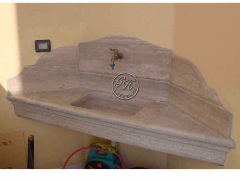 Natural stone sink Stone sink 4 by GH LAZZERINI