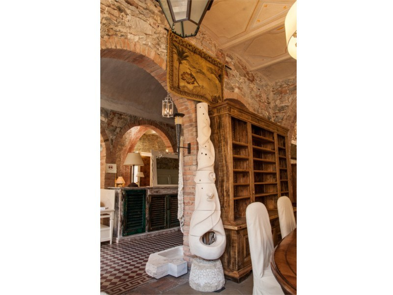 Wood-burning natural stone stove Stove 3 by GH LAZZERINI