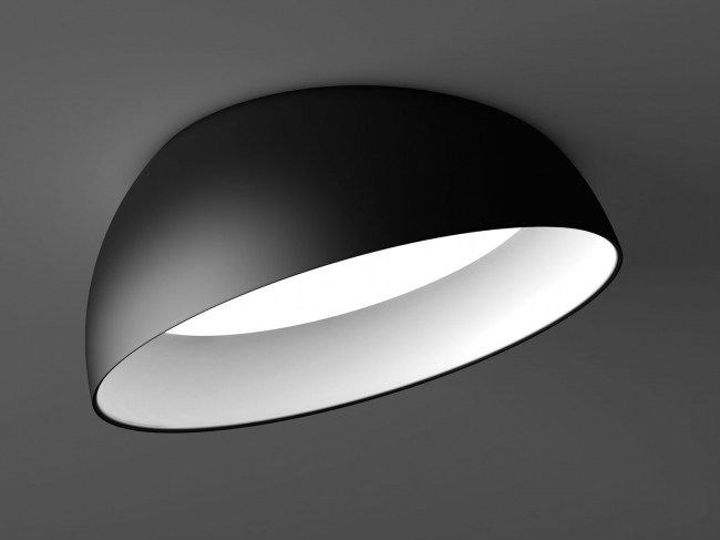 Led Semi Inset Ceiling Lamp Superdome Recessed By Delta Light