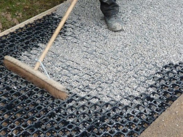 Walkable recycled plastic Grille SURECELL® by SureSet