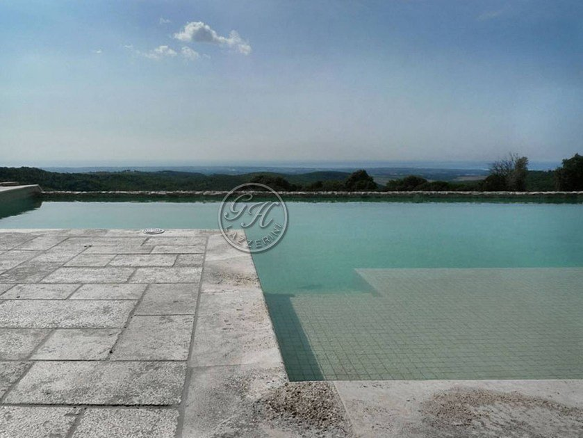 In-Ground natural stone swimming pool Swimming pool 1 by GH LAZZERINI
