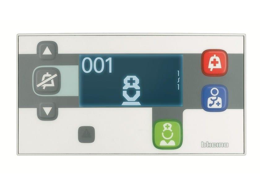 Sistemi per Strutture Sanitarie SISTEMI DI CHIAMATA Terminale di Camera con Display