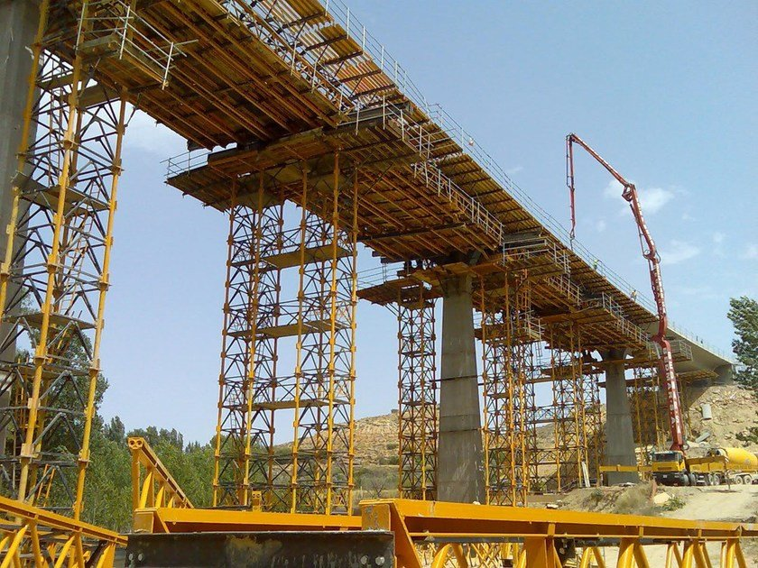 Heavy duty shoring tower T-500 by ULMA Construction