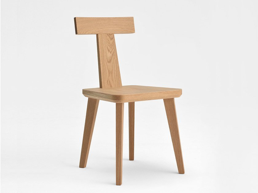 Wooden chair T-COFFEE | Wooden chair by SIPA