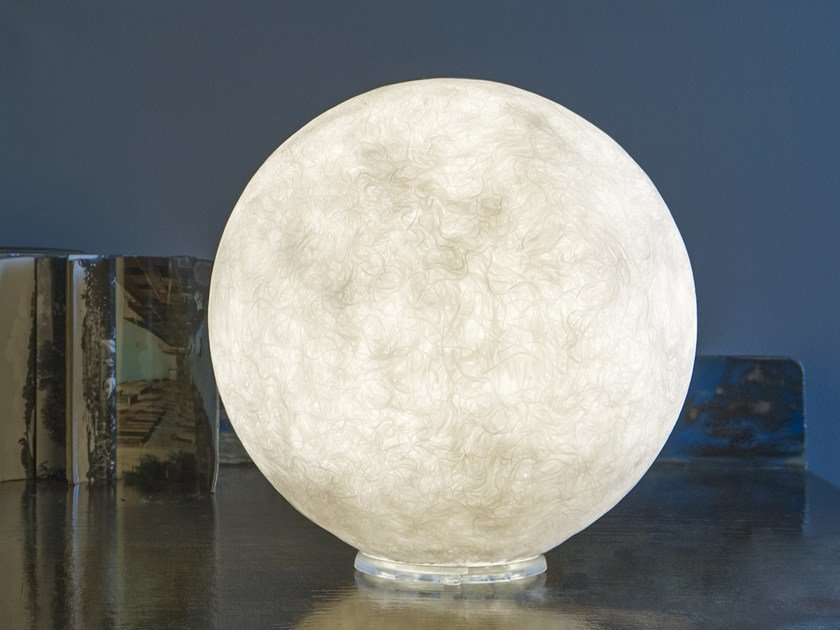 Nebulite® table lamp T.MOON by In-es.artdesign