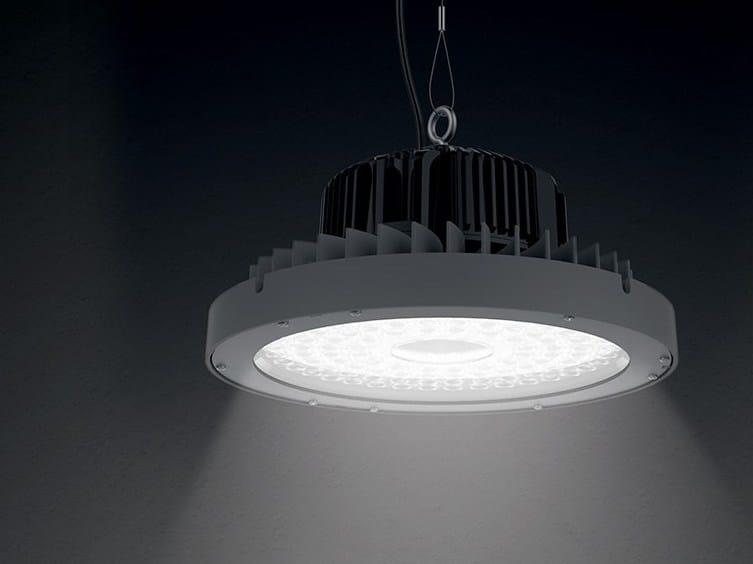 LED aluminium pendant lamp T/T1 | Pendant lamp by LANZINI