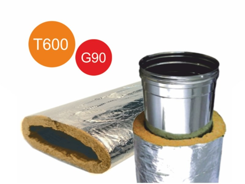 Thermal insulation for HVAC pipe T.ROCK by Isolmec