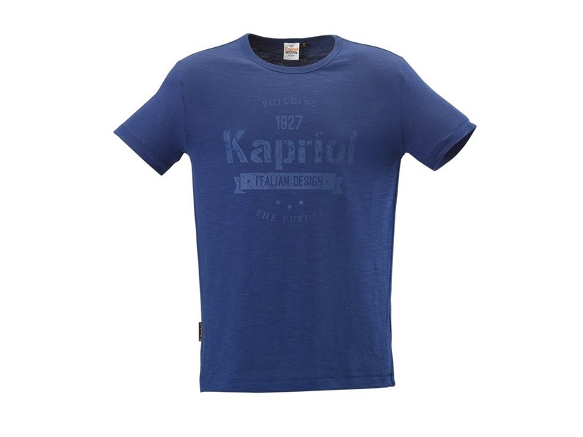Work clothes T-SHIRT VINTAGE BLU by KAPRIOL