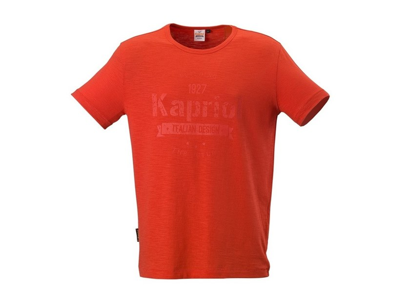 Work clothes T-SHIRT VINTAGE ROSSO by KAPRIOL
