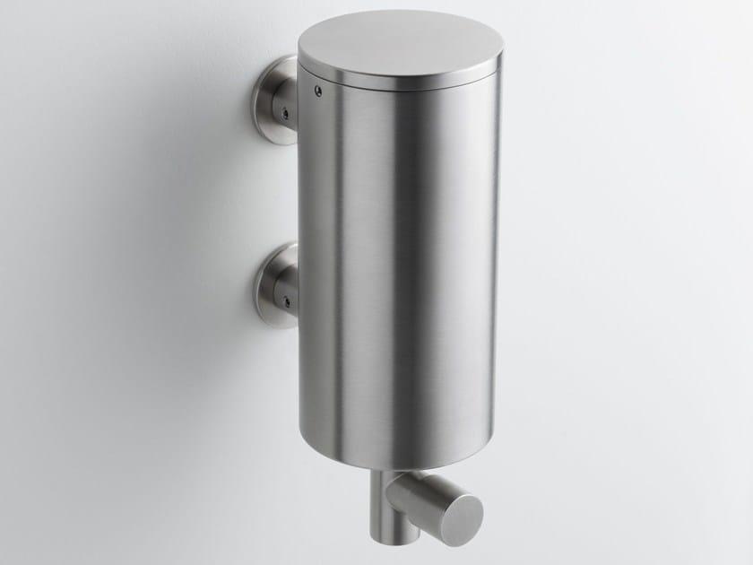 Wall-mounted liquid soap dispenser T10 | Liquid soap dispenser by VOLA