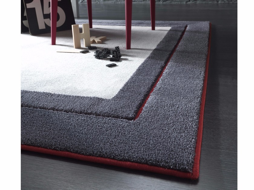 Handmade fabric rug NEW FEELINGS T1409SC by Besana Moquette